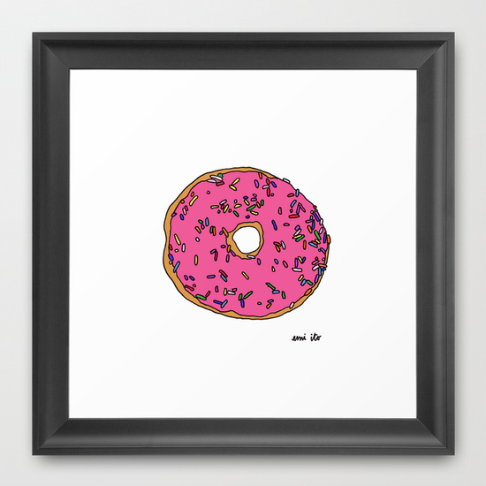 donut - emi ito illustration
