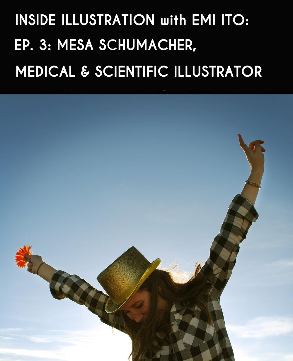 Mesa Schumacher - Inside Illustration Podcast