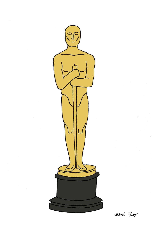 Oscars 2015 - emi ito illustration