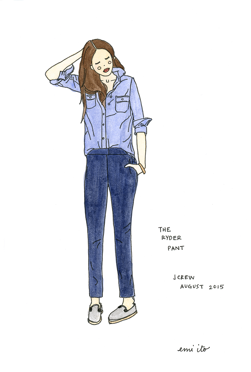 #augustdailydrawing Day 2 - emi ito illustration