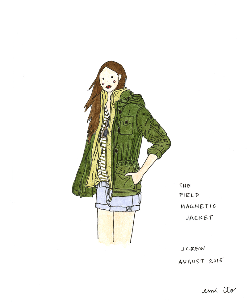 #augustdailydrawing Day 4 - emi ito illustration