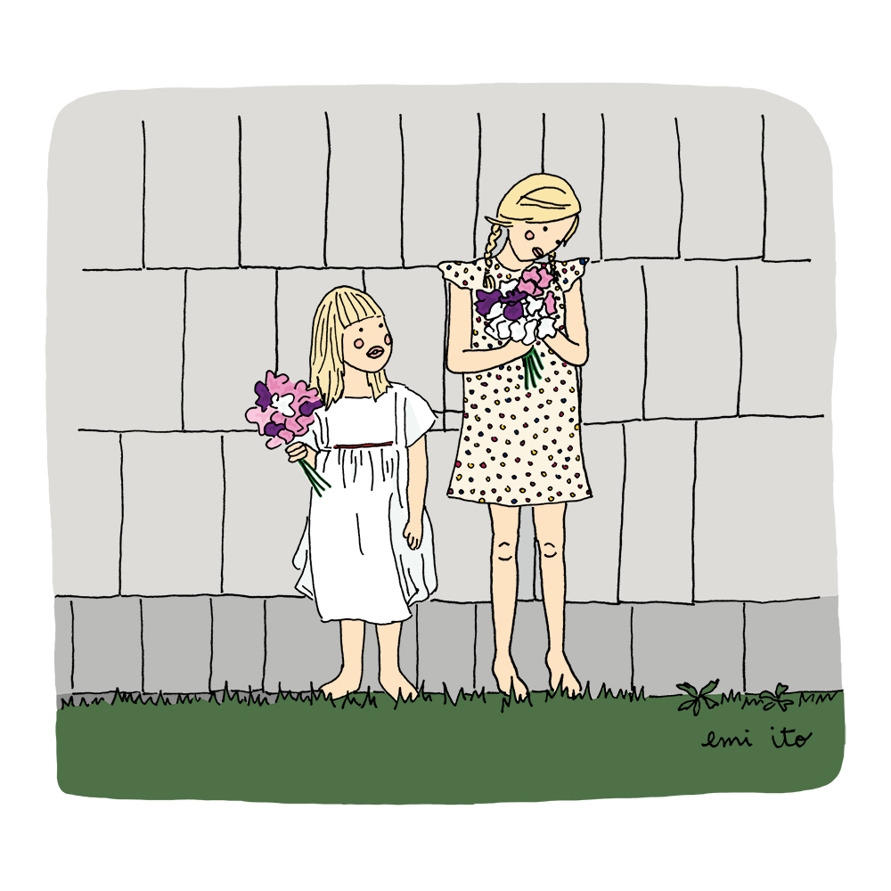 Courtney Adamo's Daughters - emi ito illustration