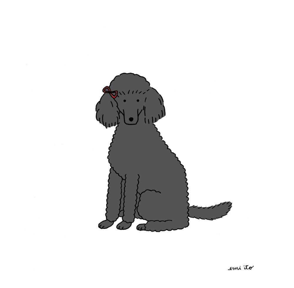 """Ruby"" - Dog Portrait Commission, December 2015"