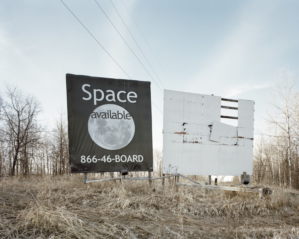 Billboard, Moose Lake, MN. 2015