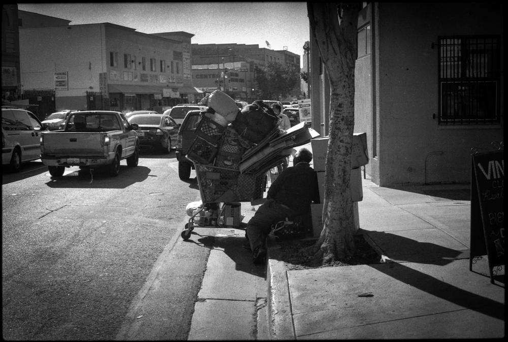 Skid Row, Los Angeles. California.