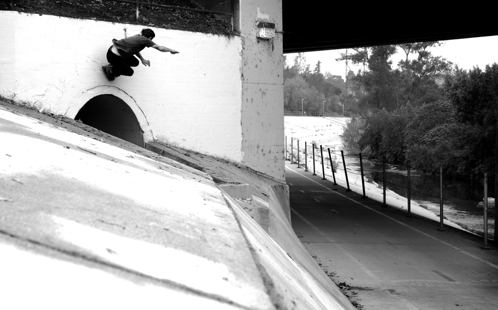 Matt Ladewski, LA River. California.