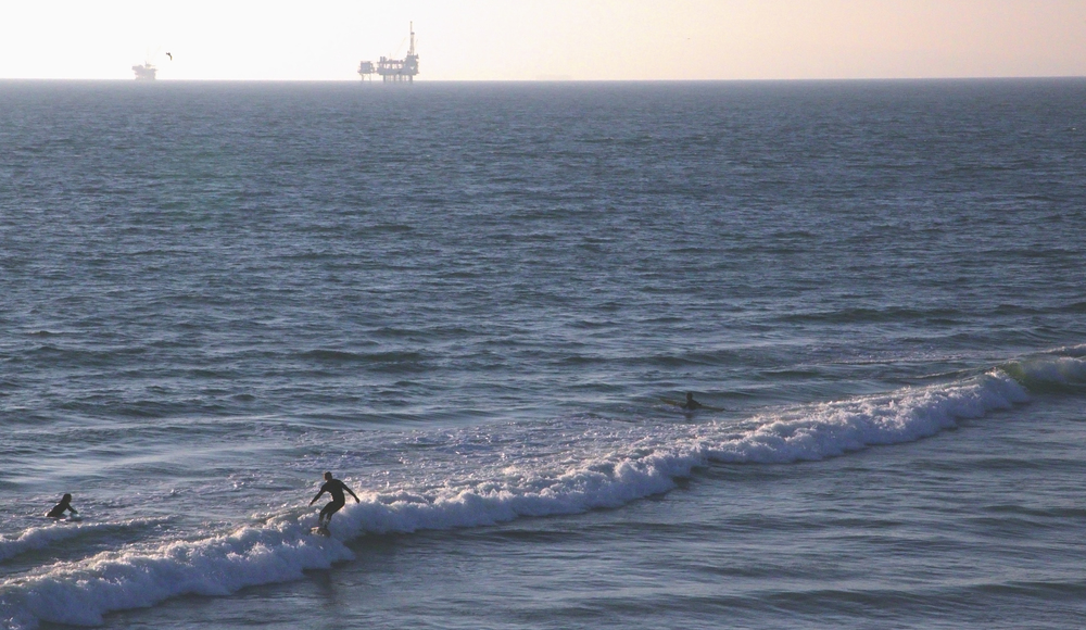 Surfers, Huntingdon Beach. California.