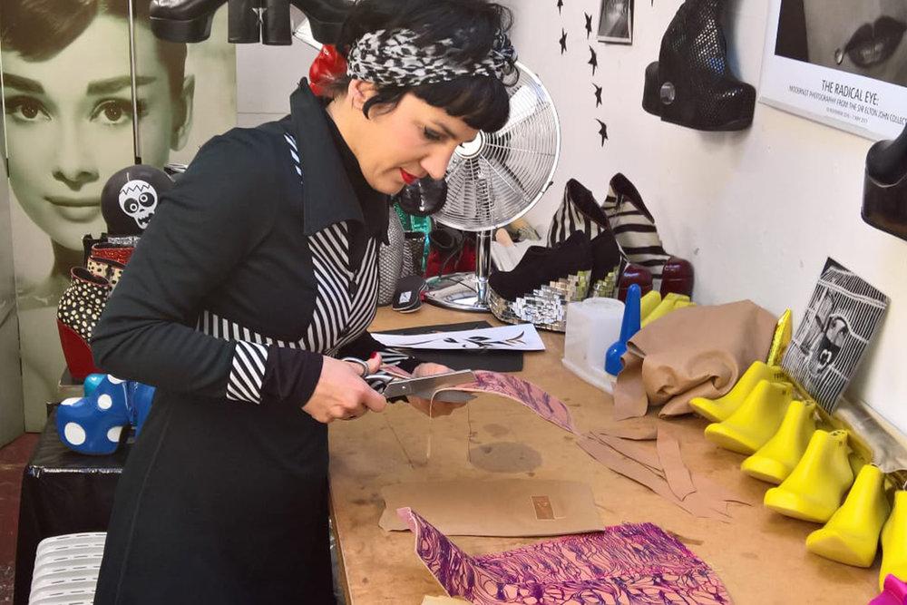 Isabella Mars collaborating with Blackfox Bindery
