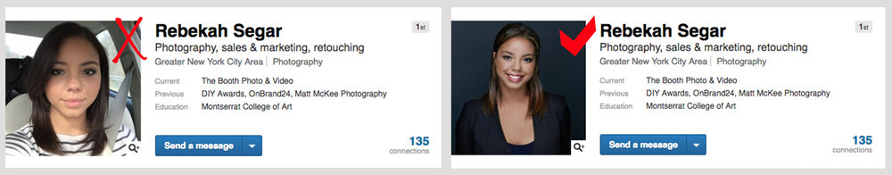 corporate linkedIn headshots