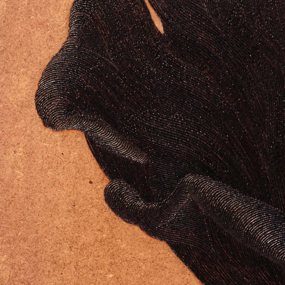 Selvportrett #1 (detail)