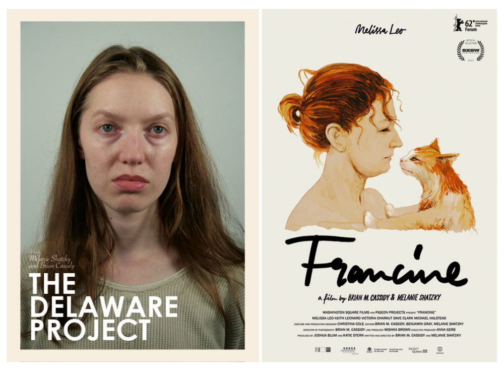 The Delaware Project  / USA, Canada / 2007 / 14 min / English  Francine  / USA, Canada / 2012 / 74 min / English