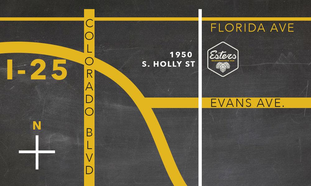esters neighborhood pub - 1950 S Holly St. Denver. CO. 80222. 303-955- 4904
