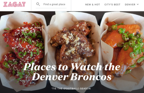 places to watch denver broncos