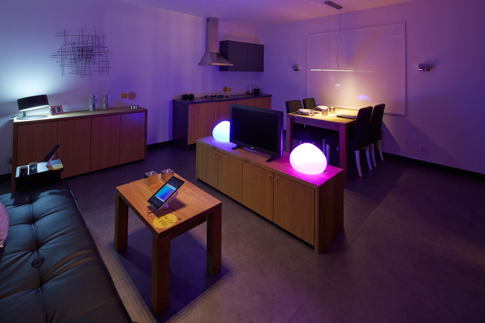 Philips interactive Light Gallery