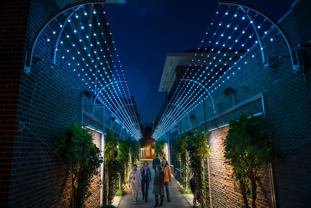 Iluminación urbana inteligente en Veghel
