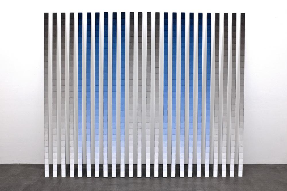 wand-installation nr. 05/2013 - 200x 240cm (variabel)