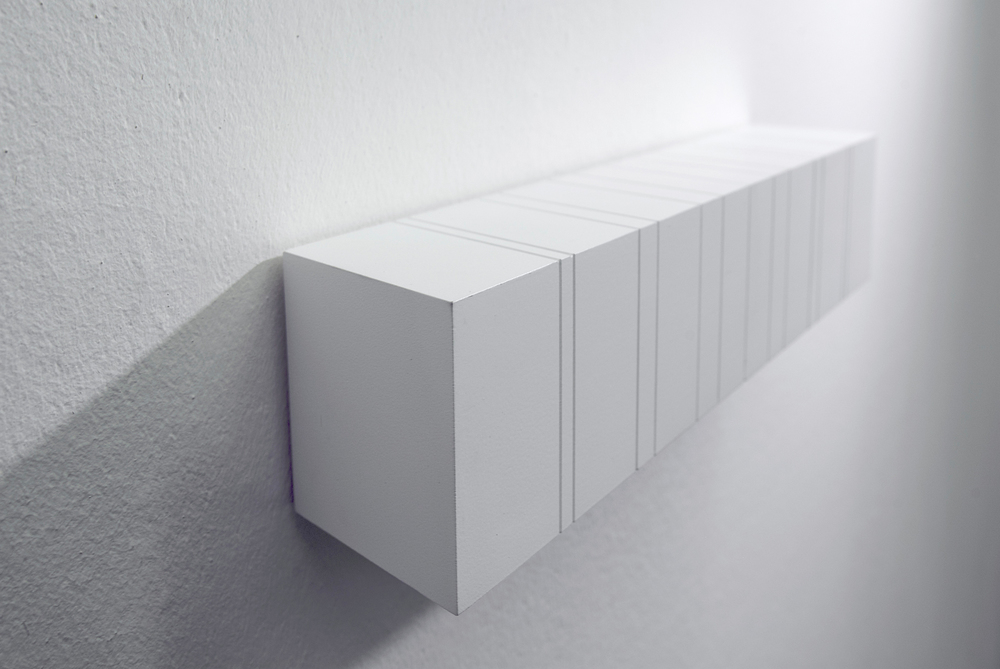 multiple nr. 07/2011- acryl auf mdf -5 x 30x5 cm