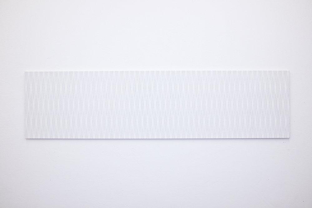 bild nr. 09/2014 - 50 x 200cm - acryl auf baumwolle/alu