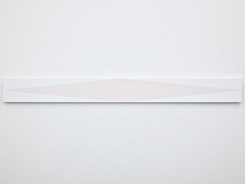 bild nr. 01.1/2017 - 10 x 100cm - acryl auf baumwolle/alu