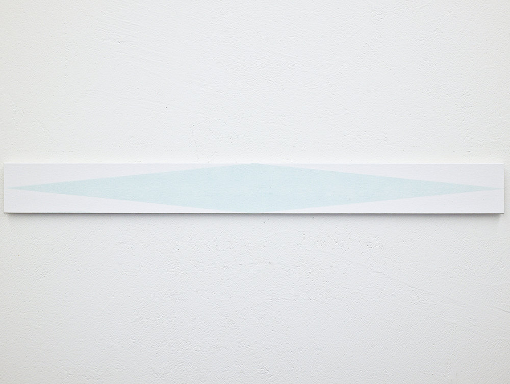 bild nr. 01.7/2017 - 10 x 100cm - acryl auf baumwolle/alu