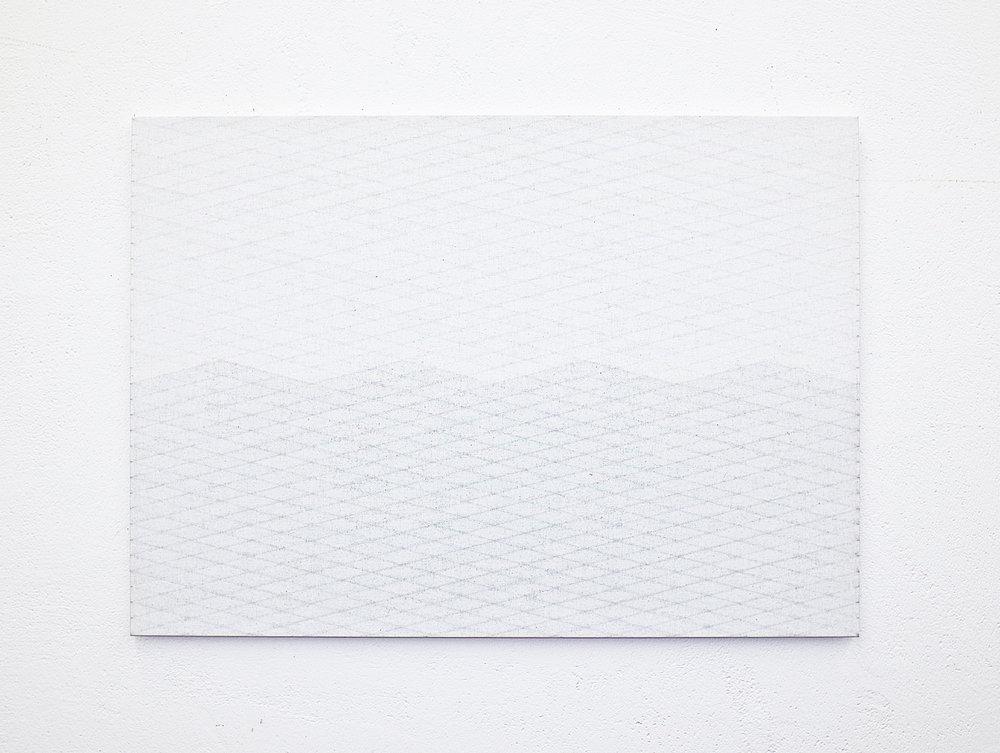 bild nr. 07/2015 - 50 x 70cm - acryl auf baumwolle/alu