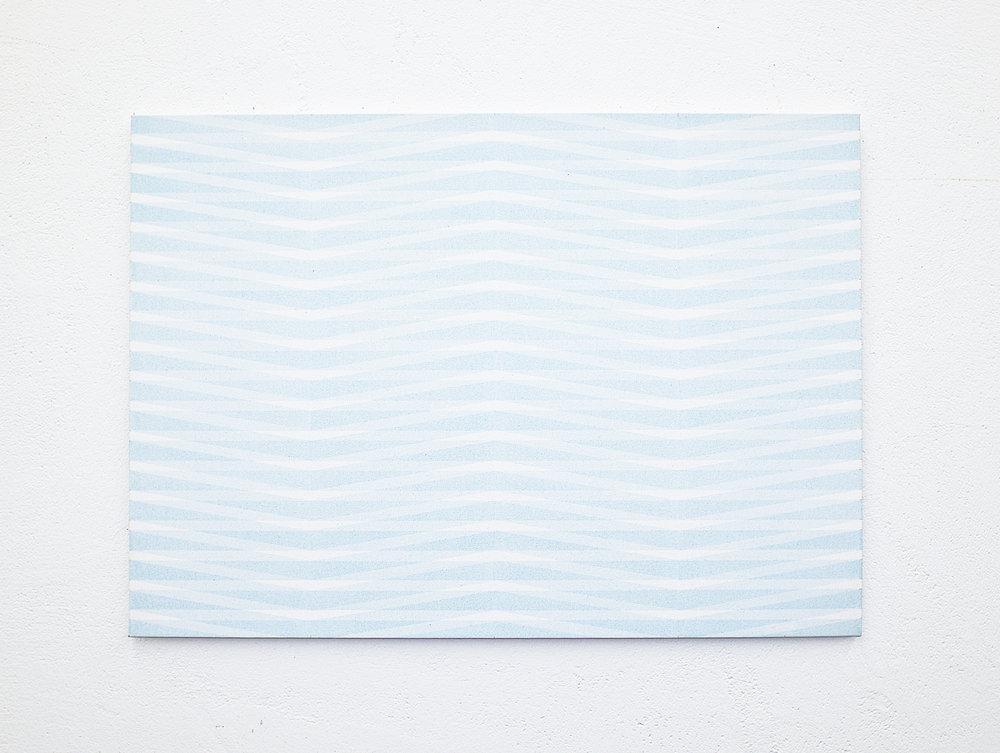 bild nr. 19/2017 - 50 x 70cm - acryl auf baumwolle/alu