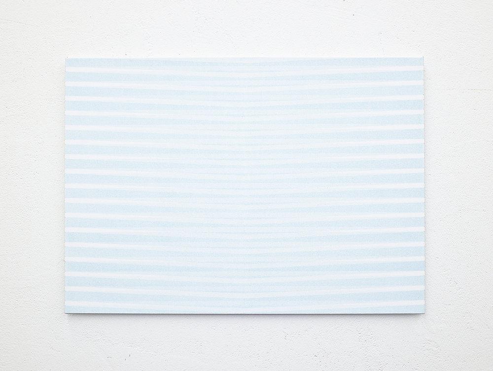 bild nr. 06/2018 - 50 x 70cm - acryl auf baumwolle/alu