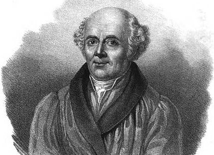 Samuel Hahnemann, founder of the homeopathic tradition of medicine.