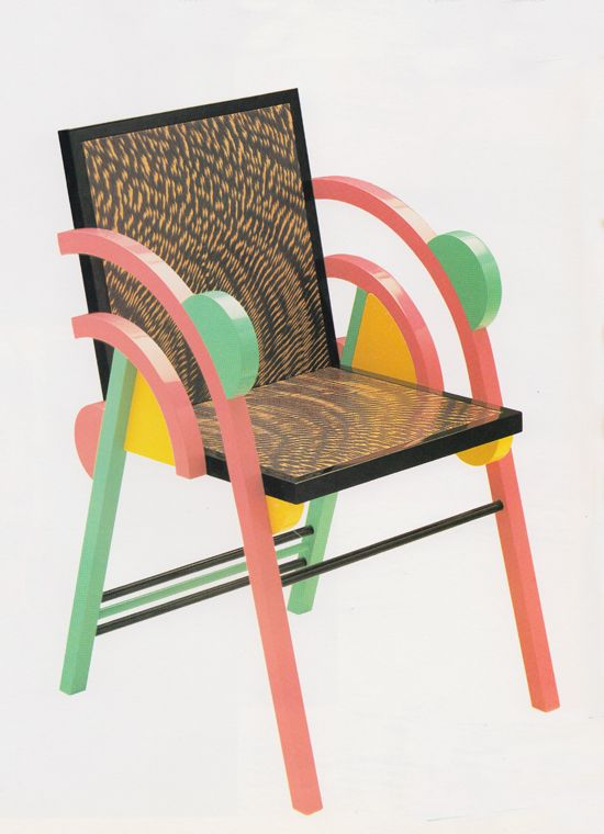 Saragoza Chair for Perkal 1984. Image (c) Sowden Design