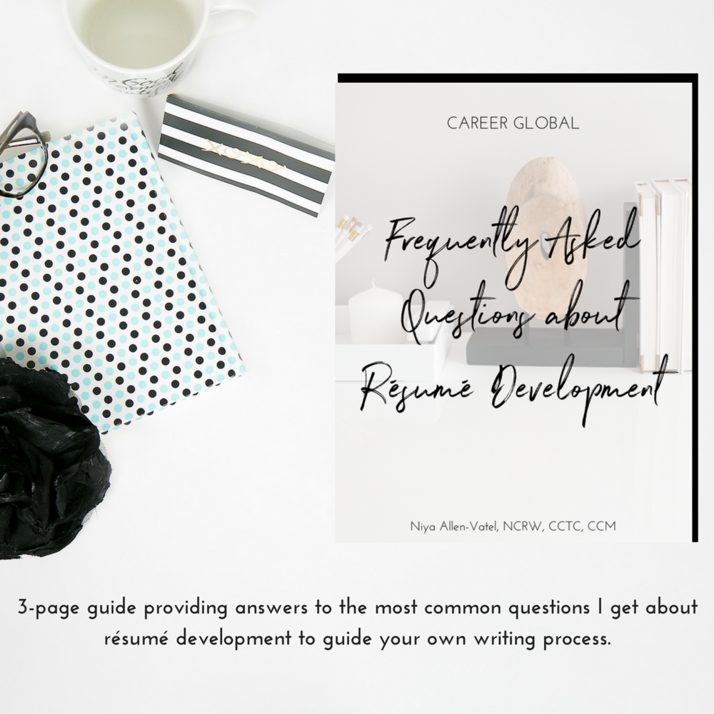 Career Global Top Certified Resume Writing Service