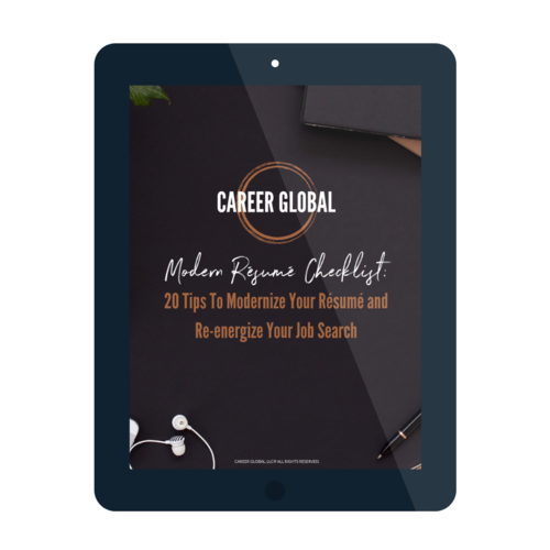 Career Global Certified Resume Writing Service
