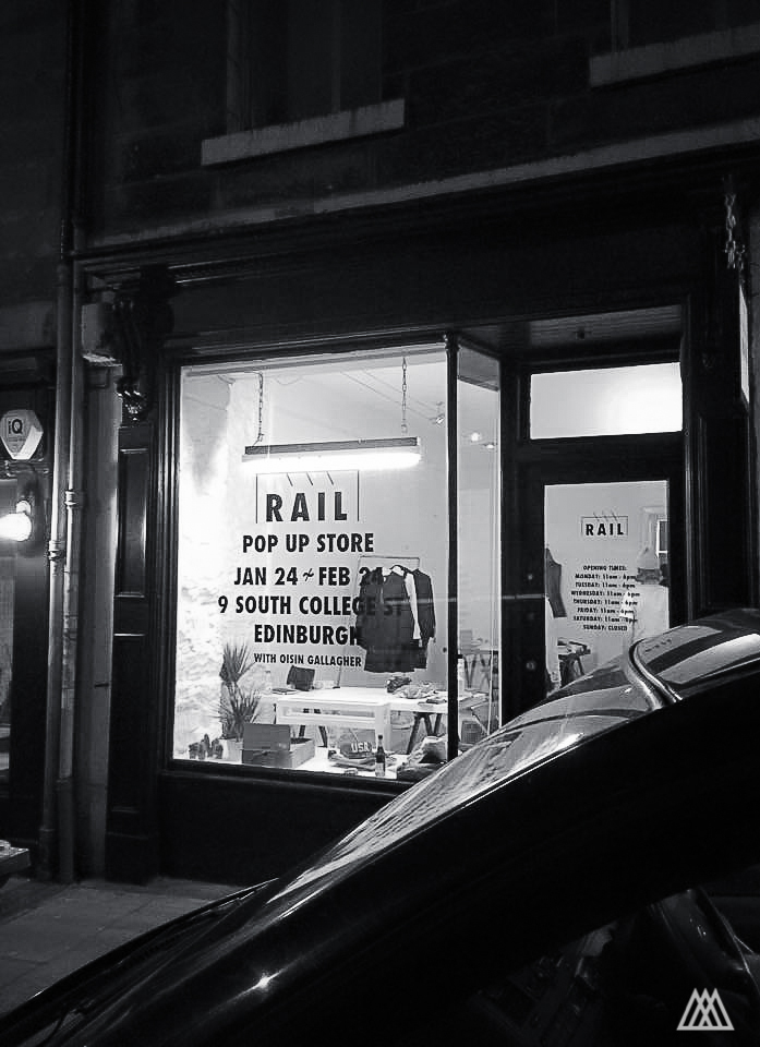 Rail Store Ednburgh