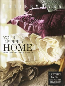 A pic of the Aug 2012 Pottery Barn catalog cover