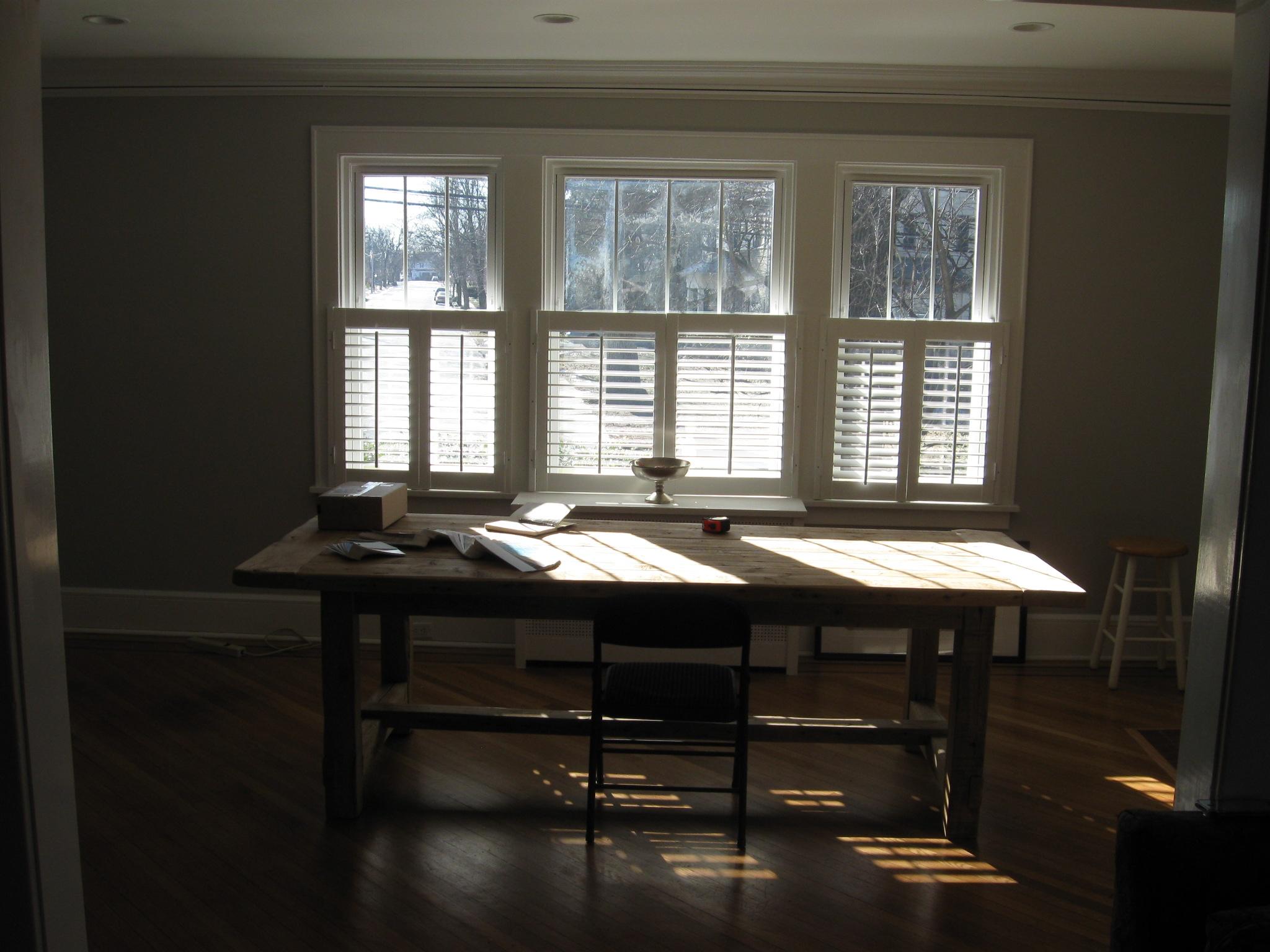 Disa's Dining Room Windows