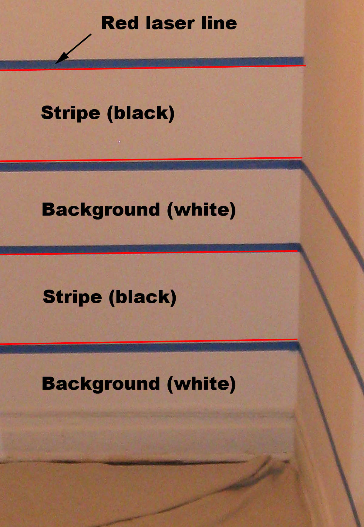 How to tape out your paint stripes