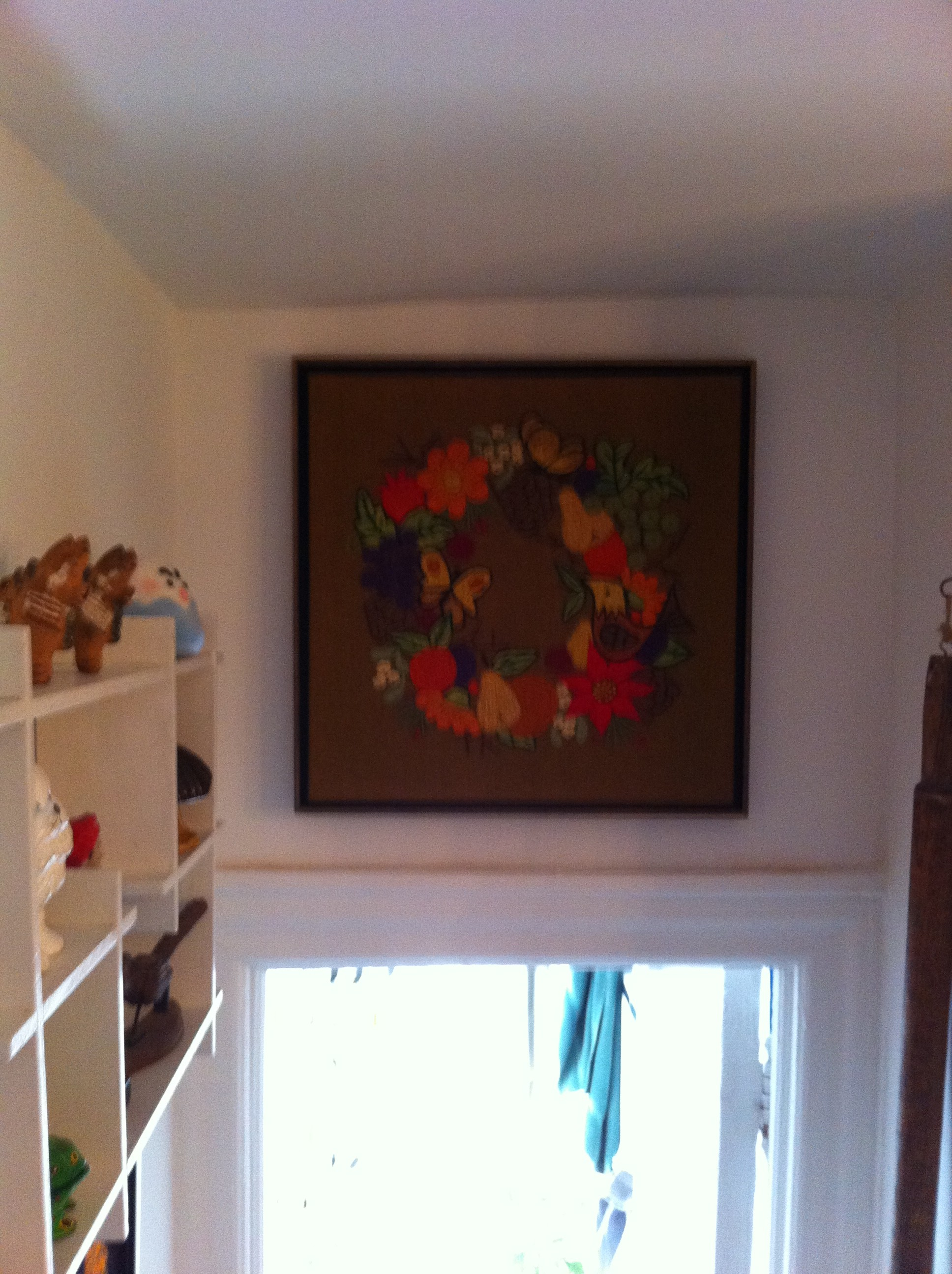A pic of another yarn artwork collected by PJ Mehaffey