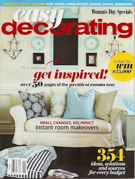 Cover of 'Easy Decorating' magazine
