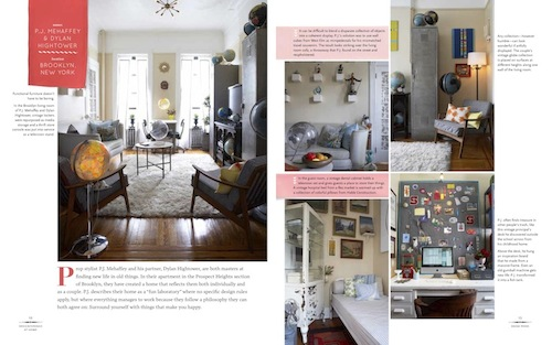Images and captions featuring PJ Mehaffey's former Brooklyn apt.