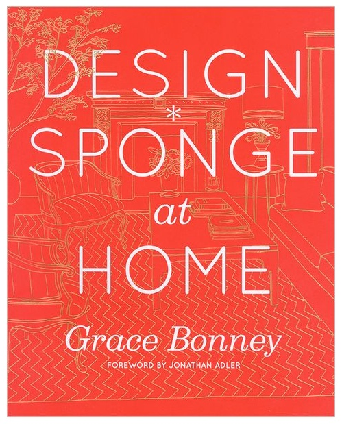 Cover image of the new Design*Sponge at Home book