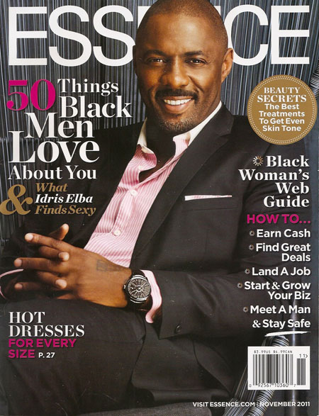 Cover of November 2011 Essence magazine