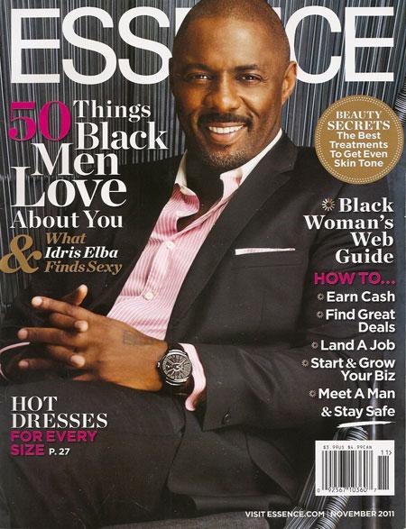 Cover of November 2011 Essence magazine