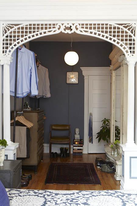 Philip's Brooklyn closet