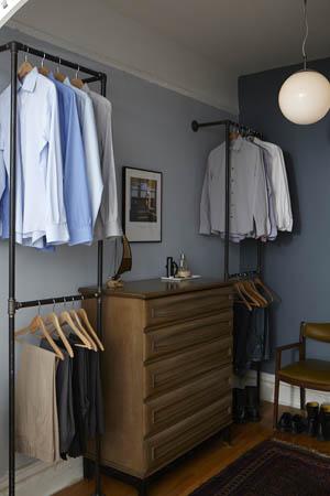 Closet dressing area