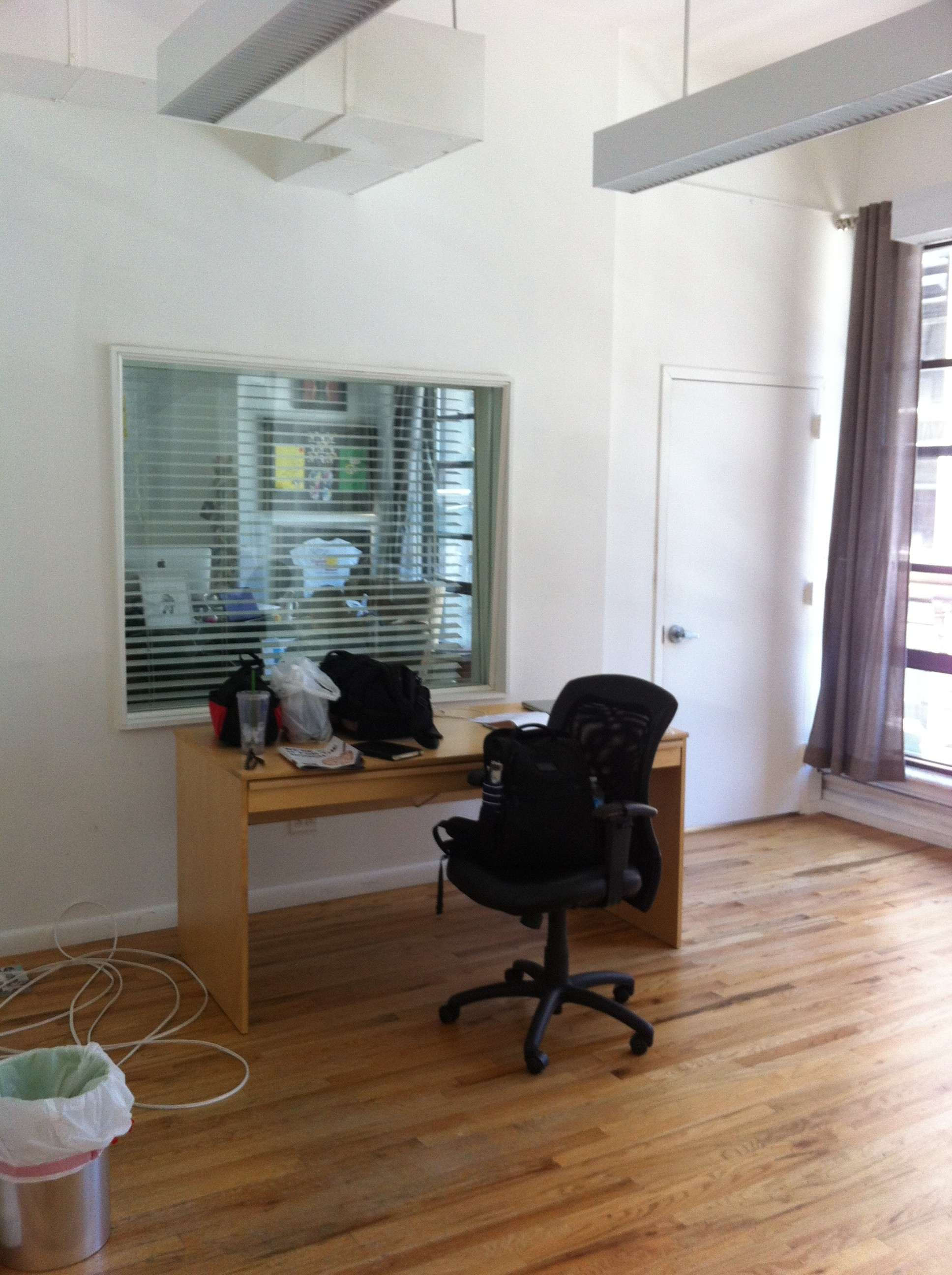 A pic of the new office space for client