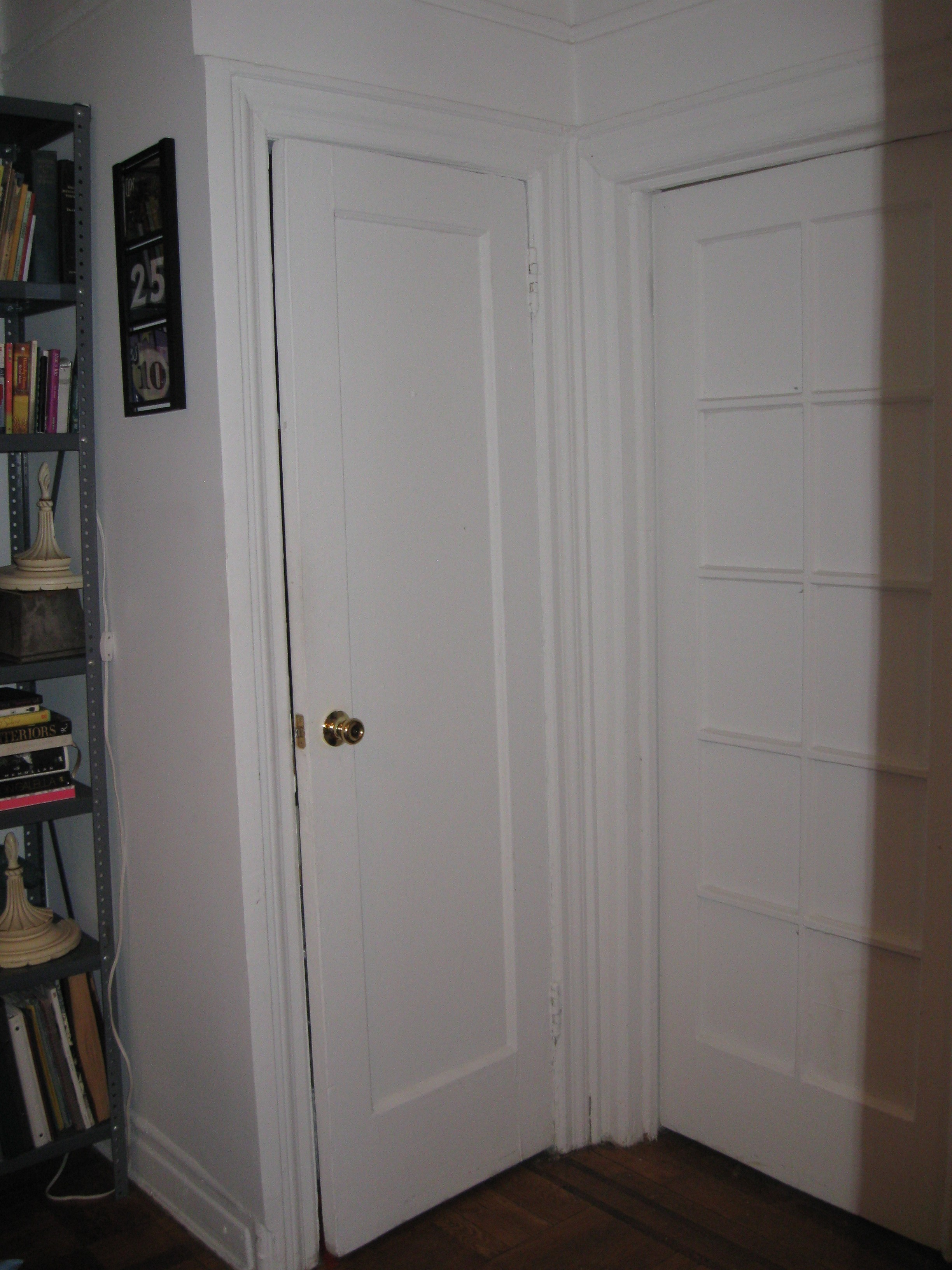 First version of prop closet door