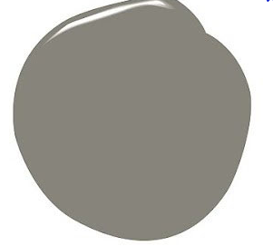 An image of a grey paint blob