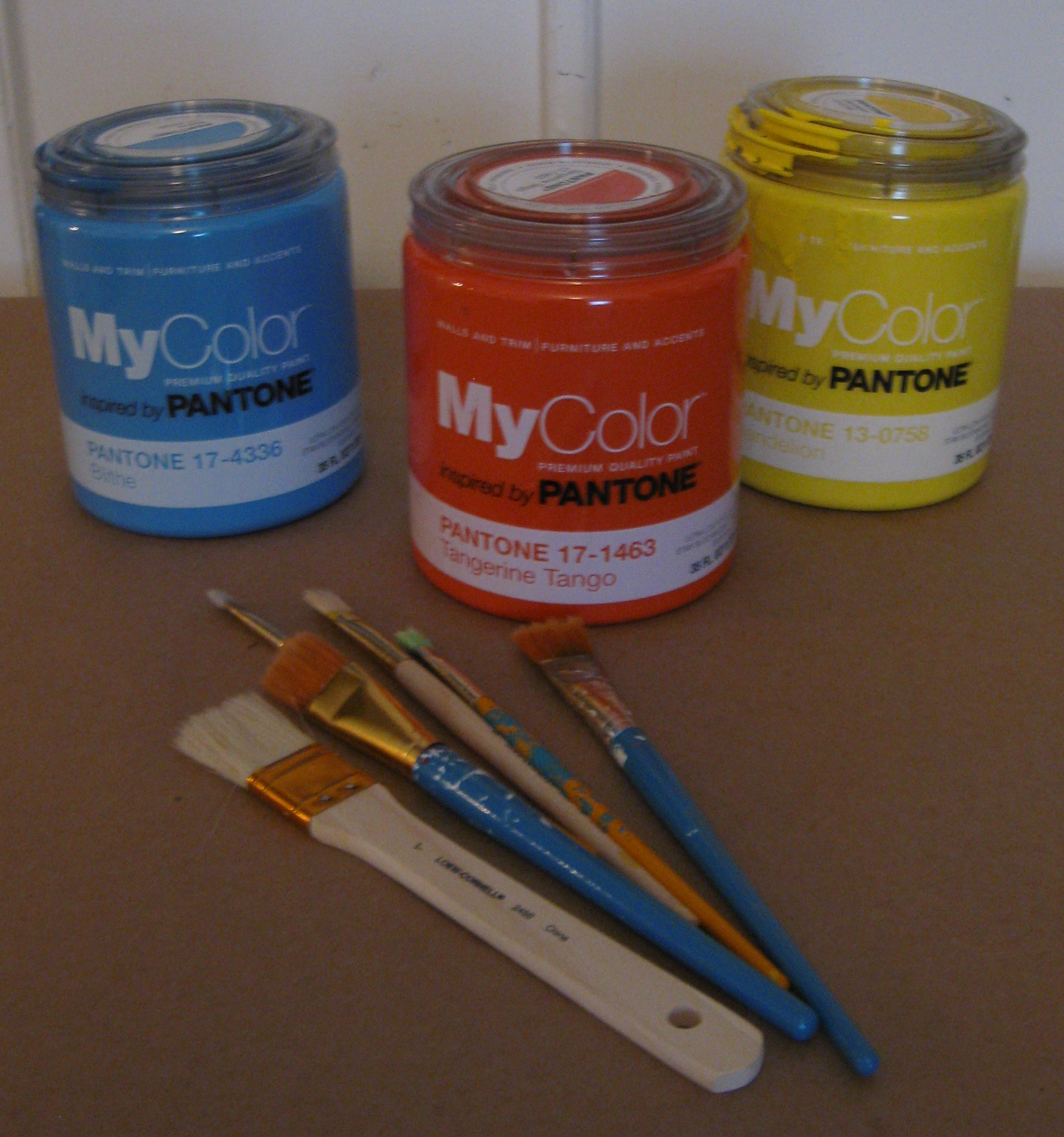 MyColor inspired by Pantone paints