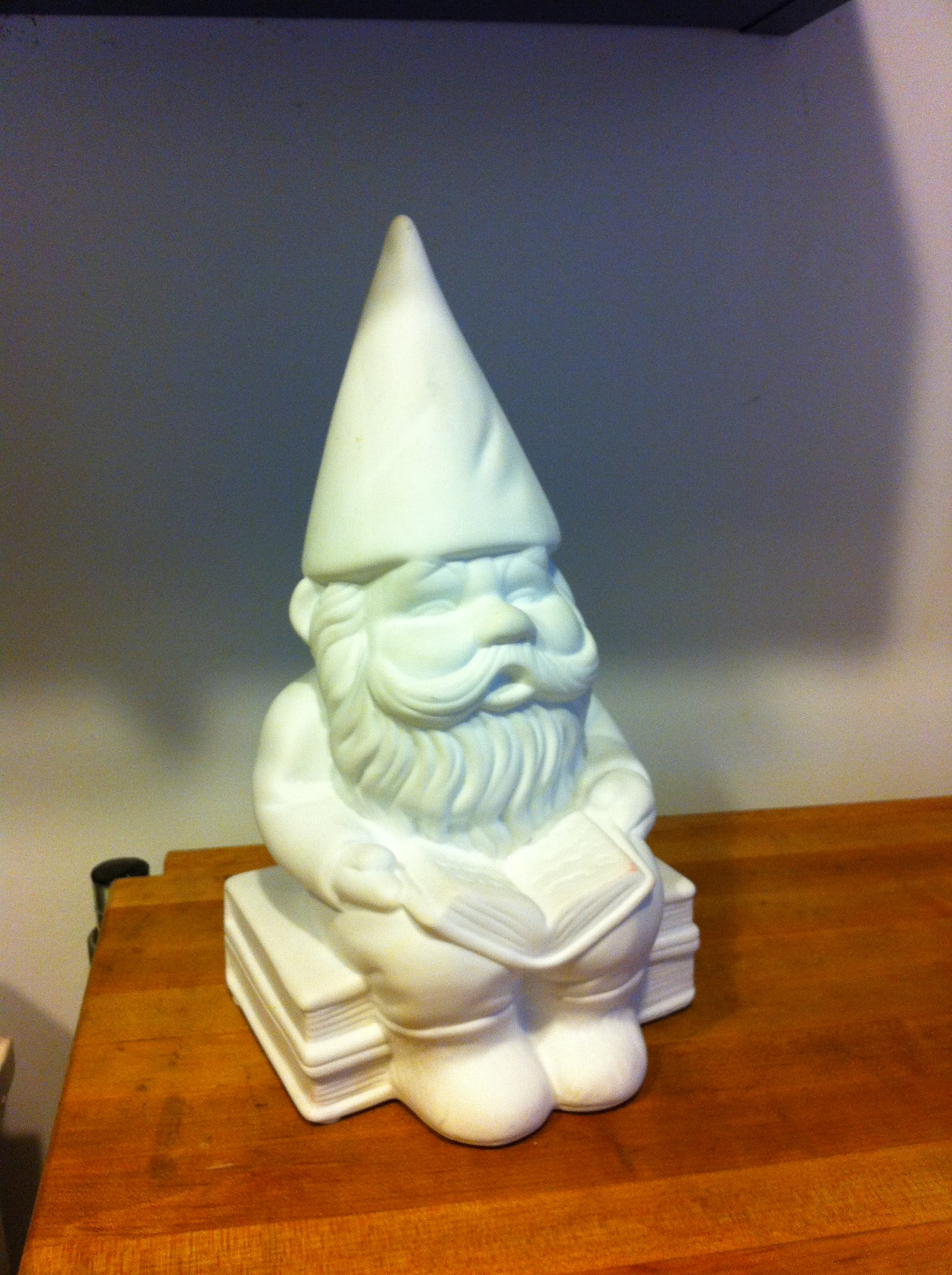 Pic of PJ Mehaffey's Good Luck Gnome of 2013