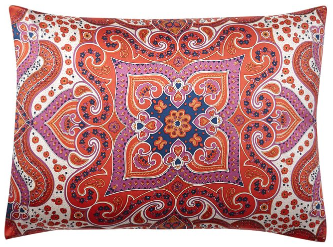 Jess Silk Scarf Sham , $47-$55, size depending