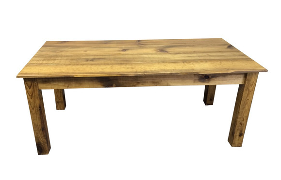 pic of Barn wood farm table from Ezekiel & Stearns avail here